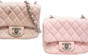 before after chanel lambskin leather bags are easily stained or scratched