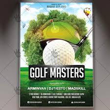 Golf Outing Flyer Template Beautiful Golf Flyer Template