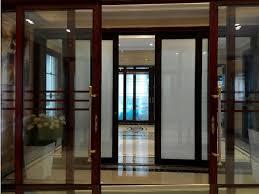 switchable privacy glass sliding door and swing door