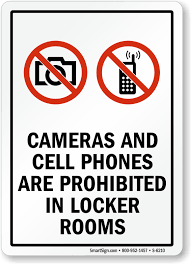 Cameras And Cell Phones Prohibited Sign Sku S 6210