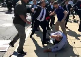 Security Personnel Erdoğan Guards Attacked Us Security Personnel In 2017 Court