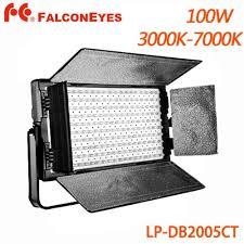 100w Led Video Light 2019 Falcon Eyes 100w Led Studio Light Panel 3000k 7000k Lcd 200 Led Video Light With V Mount Battery Model From Feifeiyu_show 1128 18 Dhgate Com