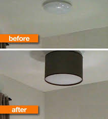 diy ceiling lighting. For This DIY, Isabelle LaRue Of Engineer Your Space Explains How To Make A Custom Shade Spiff Up Less-than-exciting Ceiling Fixture. Diy Lighting