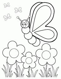 Silly Butterfly Coloring Page Kleurplaat Kleurplaten Vlinders