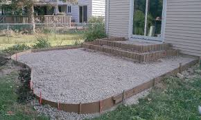Build A Propane Fire Pit Beautiful Concrete Patio Ideas For Backyard