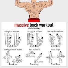 Back Workout Chart Step By Step Free Program Pdf 12 Week Full Body Transformation Program