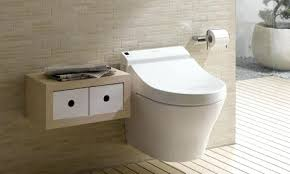 residential wall hung toilet an example of a wall hung toilet in a bathroom providing a