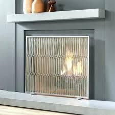 modern fireplace screens modern fireplace doors and screens