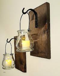 metal wall vase sconce awesome this is a beautiful rustic set of two clear glass jars galvanized sconces low