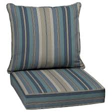 outdoor rocking chair cushions sale. display product reviews for stripe blue glenlee deep seat patio chair cushion outdoor rocking cushions sale
