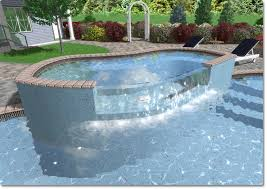 Infinity pool design drawings Raised Deck Setting Depths Aerotalkorg Adding Swimming Pool