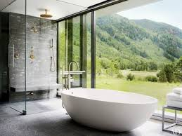 in an aspen colorado home by shelton mindel assoc the master baths shower and agape