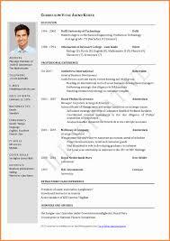Good Resume Format Doc Elegant Cv Format Doc Resume Ideas Resume