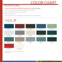 Mbci Color Chart Mbci Roof Panel Color Chart 12 300 About Roof