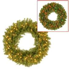 Outdoor Lighted Wreath Custom Garlands And Wreaths Battery Operated Christmas Outdoor Pre Lit Uk