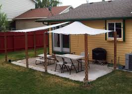 image of patio shade structure ideas