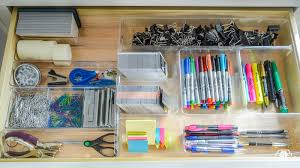 Organizing Drawers Beauteous Organized And Functional Office Supply Drawers Kelley Nan