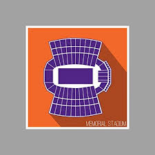 Amazon Com Artsycanvas Clemson Memorial Stadium College