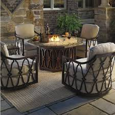 fire pit dining table fire pit dining table set patio furniture sets with unique fire pit dining table canada