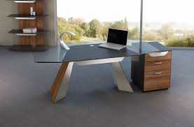 ... Home Decor Stunning Glass And Wood Desk Photos Ideas Deck Railings  Deskglass Railingsglass Impressive 94 ...