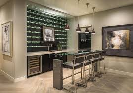 daltile las vegas for a contemporary home bar with a low hanging pendant lights and plan 2 bar at lago vista at lake las vegas by william lyon signature