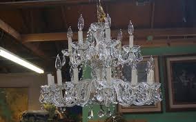 1930 s italian crystal chandelier