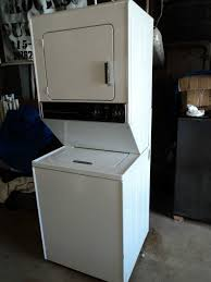maytag stacked washer dryer. Brilliant Washer This Maytag Stackable Washerdryer Comes In Black And I Want The Black  Combo For Stacked Washer Dryer
