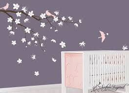 >wall art ideas design purple white beautiful wall art flowers  wall art ideas design purple white beautiful wall art flowers birds pink bedroom design for kids and baby branches contemporary best beautiful wall art