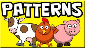 Patterns For Kids Farm Animals Patterns For Children Patterns