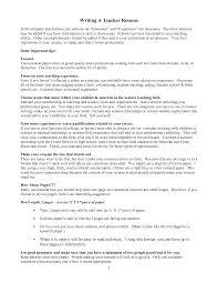 100 Teachers Resume Format Preschool Teacher Resume Resume