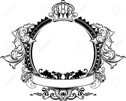 filigree frame cliparts