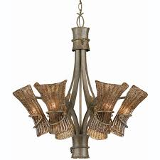 tropical pendant lighting. Tropical Pendant Lighting | Bali 6-light Breeze Finish Chandelier - Free Shipping Today F