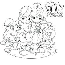 family coloring pages for toddlers free printable precious moments coloring pages for kids family colouring pages