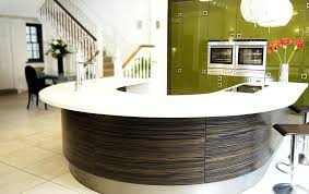 townhouse contemporary furniture. Townhouse Contemporary Furniture Curved Kitchen And Stairs To Upper Showroom Rockville Md T