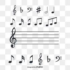 Stave Music Musical Note Symbol Stave Music Png And Psd File For Free