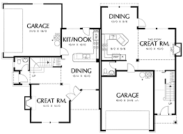 corner lot house plans. Duplex Plans For Narrow Lots Amazing 14 Kb Gif Plan W6989am Lot Northwest House Corner