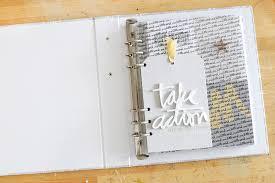 Album Word Ali Edwards Design Inc Blog One Little Word 2018 Album Set Up