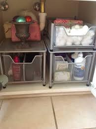kitchen under sink storage basket cabinet sliding drawer organizer bathroom cabinet drawers under the sink tsc