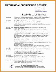 Mechanical Engineering Resume Example Beautiful Mechanical