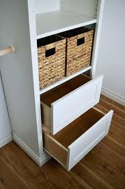 drawers for closet tower storage white
