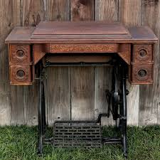 vine sewing machine table