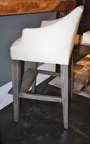 campaign bar stool counter stools home modern style swivel cushions patton leather without backs sitting office