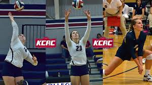 Riffel, Wells, and Reid Named to All-KCAC Volleyball Teams   Sterling  College Athletics