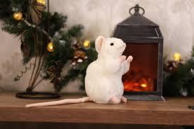 <b>Мягкая игрушка Hansa Creation</b> 5323 Белая мышь, 16 см купить в ...