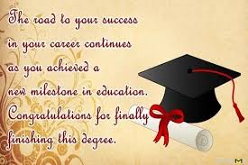 Congratulations Wishes For Your Graduation Maris Board