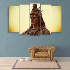 multiple picture frames wood. Multiple Frames Lord Shiva Wall Painting (150cm X 76cm) Picture Wood