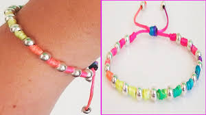 stylish how to make a bracelet with string home decor ideas diy bracelets beads friendship tutorial