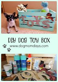 a super cute diy dog toy box for all of your pup s toys be sure