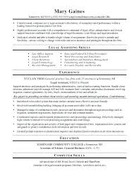 Legal Resume Adorable Lawyer Resume Template Legal Examples Trial Attorney Example Law