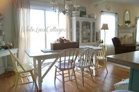 white farm table. White Painted Farmhouse Table Farm